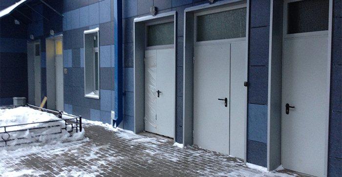 производство технических металлических дверей
