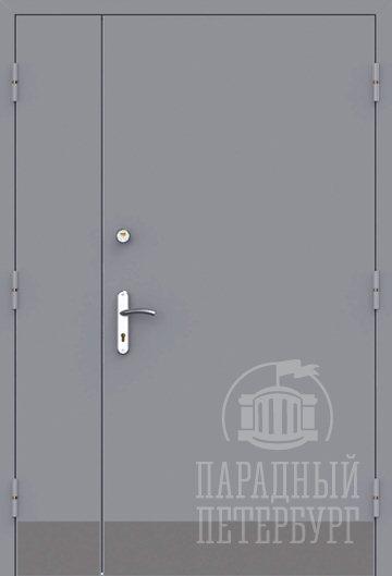 Двупольная техническая дверь